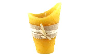 Svíčka Sunchi 6468 Váza II. žlutá