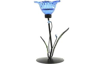 Svícen Sunchi 844-Svícen květina Indy lístky modrá