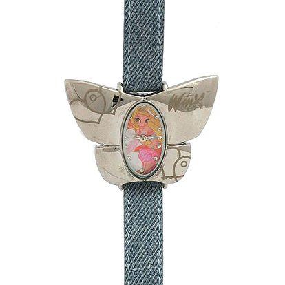 Hodinky Winx Club Hodinky W-7112 Stela jeans pásek