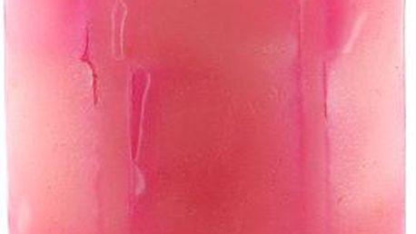 Svíčka Sunchi 6438 Šachovnice duha růžová růže