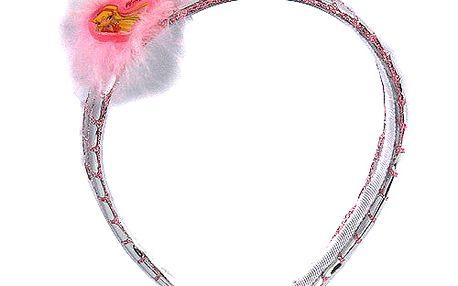 Čelenka Winx Club Čelenka sklíčka Stella růžová