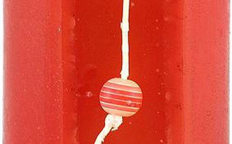 Svíčka Sunchi 6480 Cut on the side červená lesní směs