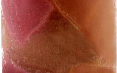 Svíčka Sunchi 6449 Žulomramor hnědovínová pomeranč-skořice