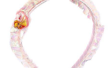 Čelenka se stuhou Winx Club Čelenka se stuhou Stella světle růžová