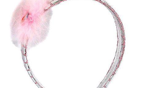 Čelenka Winx Club Čelenka sklíčka Bloom růžová