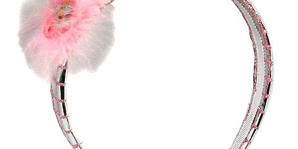 Čelenka Winx Club Čelenka sklíčka Flora růžová