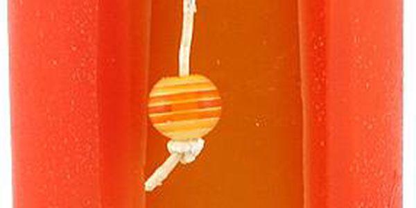Svíčka Sunchi 6480 Cut on the side oranžová pomeranč