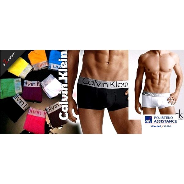 Buďte SEXY v pohodlném prádle z 93% bavlny! Pánské boxerky CALVIN KLEIN v 11 barevných provedení a 4 velikostech! Jedinečný požitek z dokonalého prádla, ve kterém se bude cítit sexy každý muž!