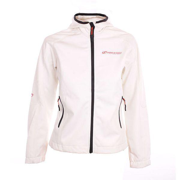 Dámská bílo-šedá softshellová bunda Hannah
