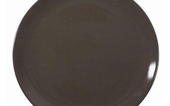 talíř jídelní hnědý, 26 cm, Ambition