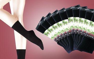 Bambusové ponožky vyrobené z bambusového vlákna - 5 párov len za 7,90 € vrátane poštovného