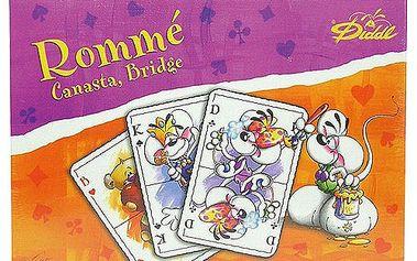 Diddl & Friends Hrací karty Diddl a jeho přátelé Hrací karty, Diddl