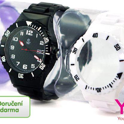 Dámské hodinky YOT s vyměnitelnými pásky