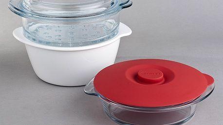 Multifunkční sada nádobí na vaření Pyrex Multicook 2,5 l pro přípravu jakéhokoli druhu pokrmu nebo receptu
