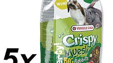 Versele-Laga Krmivo Crispy Muesli pro králíky velkých plemen 5 x 2,75kg