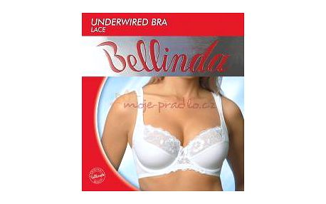 Podprsenka s kosticí bellinda 835172 underwired bra lace