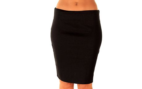 Dámská černá úzká sukně Ada Gatti