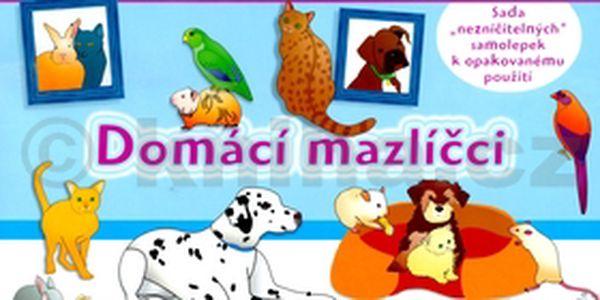 Domácí mazlíčci - zábavný sešit pro šikovné děti