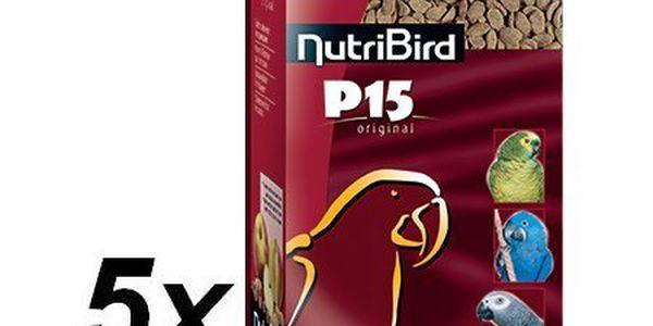 Versele-Laga NutriBird P15 Original pro velké papoušky 5 x 1kg