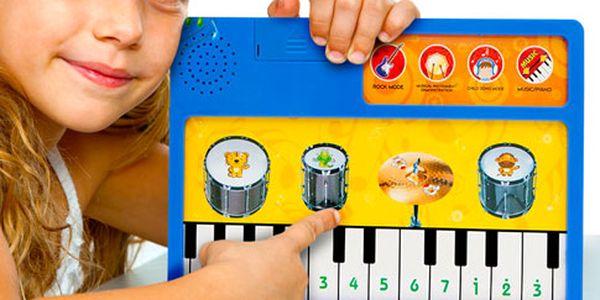 Hudební dotyková tabulka pro děti