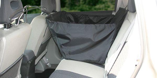 GreenDog ochranné závěsné lůžko jednosedadlové zvyšující bezpečnost jízdy při přepravě psa