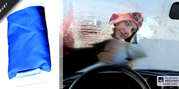 Řidiči, připravte se na zimu! Auto škrabka s rukavicí. Škrabka je na rozdíl od běžně dostupných variant vybavena také teplou rukavicí, což oceníte hlavně v třeskutých mrazech. Už nebude problém odstranit námrazu z oken, či sníh z kapoty auta!