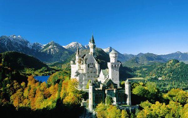 929 Kč za výlet na pohádkový zámek Neuschwanstein spojený s návštěvou Mnichova