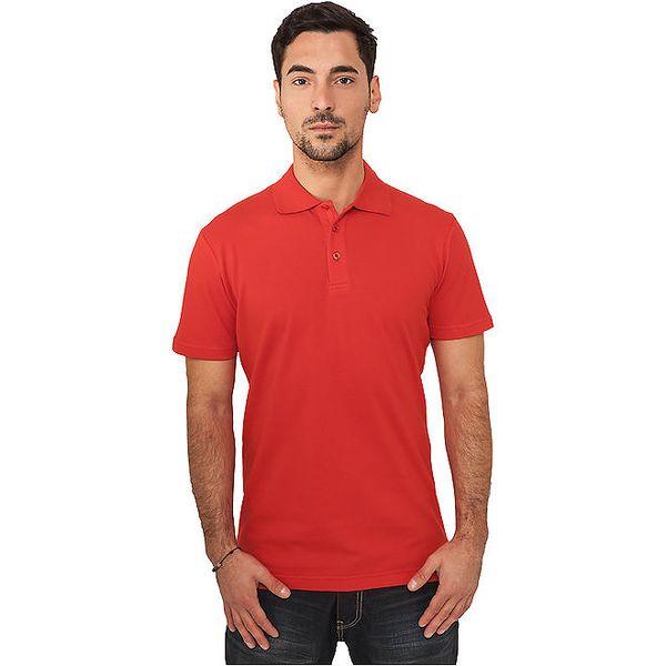 Pánské červené polo tričko Urban Classics