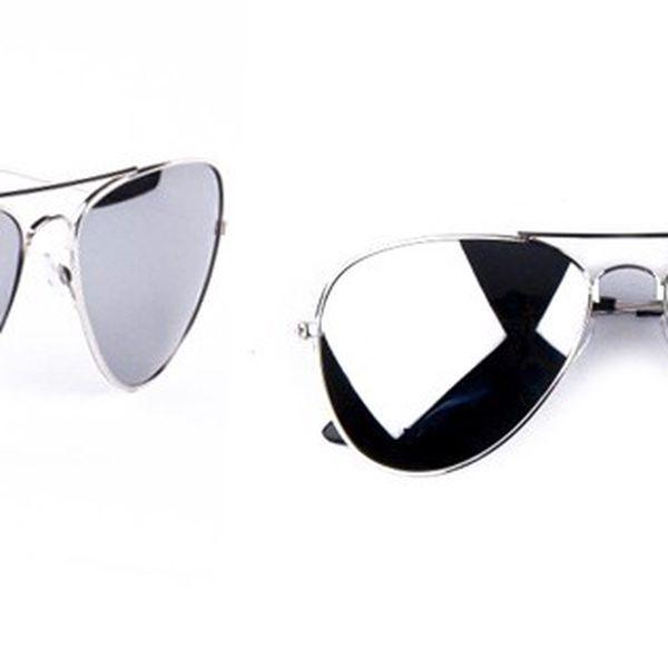 Luxusné zrkadlové okuliare AVION PILOT s filtrom UV 400 a kvalitným oceľovým prevedením nožičiek pre mužov aj ženy!