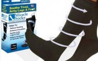 Zázračné ponožky -snižují otoky nohou, bolest, křečové žíly