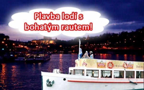 3 varianty romantické PLAVBA LODÍ po Vltavě s možností bohatého rautu nebo živé hudby!!! Plavby každý den včetně víkendů po celý den - ráno, odpoledne i večer!!! Poznejte krásy denní i noční Prahy z paluby lodě.