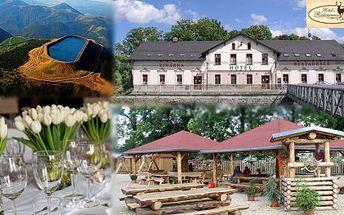 Relaxační pobyt v Hotelu u Jelena v Mikulovicích u Jeseníku! 3 DNY pro 2 OSOBY s POLOPENZÍ v krásném prostředí za pouhých 1 499 Kč
