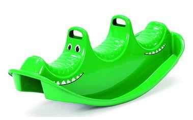 Krokodýlí houpačka na ven i dovnitř