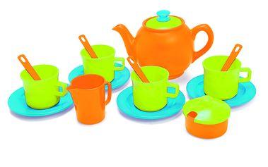 Moderní sada na čaj, 17 ks - je libo čaj o páté?