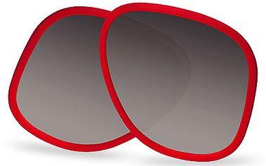 Úžasná náhradní sklíčka ke slunečním brýlím modelu Panama holandské značky Bidutchy, barva obrouček červená