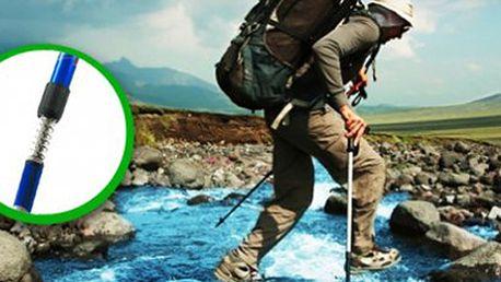 Vybavte se na procházky a túry! Trekingové hole s kvalitním odpružením, které šetří až 30% energie, zapojují celé tělo při chůzi a napomáhají jeho správnému držení!