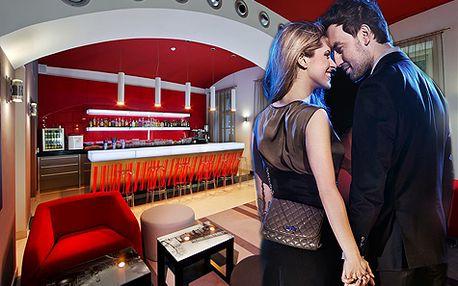 Romantika v luxusním designovém hotelu v centru Prahy pro DVA na 3 a více dní