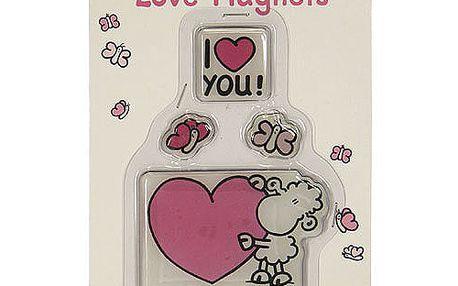 Magnetky Sheepworld Magnetky LOVE, Sheepworld