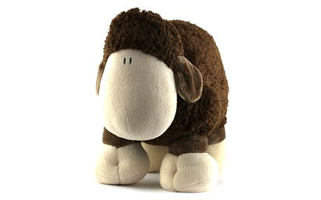 Plyš 45cm Sheepworld Plyš 45cm ovečka hnědá stojící, Sheepworld