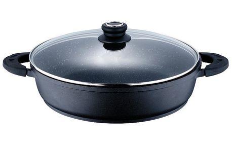 BERGNER Pekáč průměr 24 cm (BG-6464). Vhodný k použití pro indukční vařiče, trouby, sklokeramické varné desky a elektrické či plynové sporáky