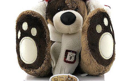 Teddy Big Foot Medvídek 13cm v beranici, TBF
