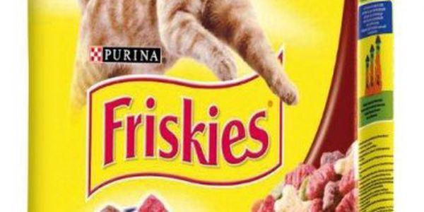 Friskies Cat s játry a zeleninou 10 kg - kompletní a vyvážená strava pro každý den.