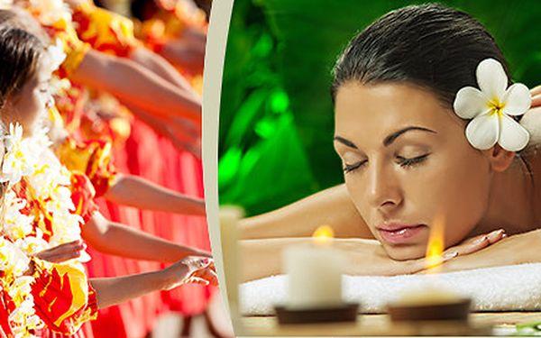 Celková havajská masáž v délce 60 minut