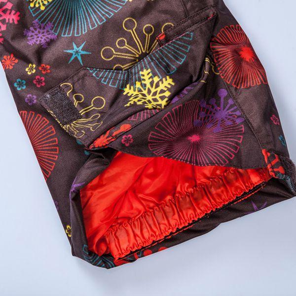 Zimní lyžařské kalhoty s vločkami od značky Minymo