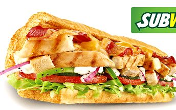 Libovolný sendvič a nápoj ze Subway Olympia