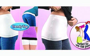 Návleky Trendy Top, které Vám zakryjí boky a ledviny a dodají Vám styl za 95 Kč! Dopřejte si tuto sadu dvou strečových pásů.
