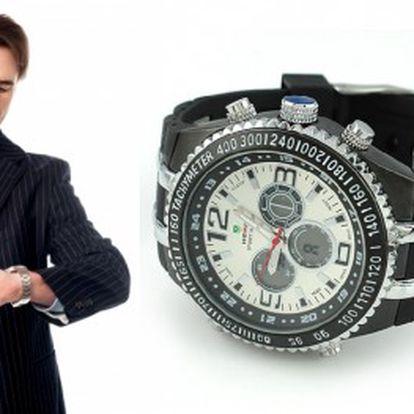 Originální a stylové pánské hodinky z kvalitní nerez oceli jen za 499 Kč. Pořiďte si tento krásný doplněk nebo udělejte někomu radost, potěší muže, kterým záleží na vzhledu a originalitě. Dámy, Vánoce se blíží a hodinky jsou perfektní dárek!