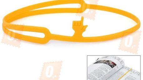 Silikonová záložka do knihy - 3 barvy a poštovné ZDARMA! - 30804963