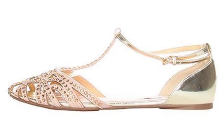 Béžové sandály Ana Lublin