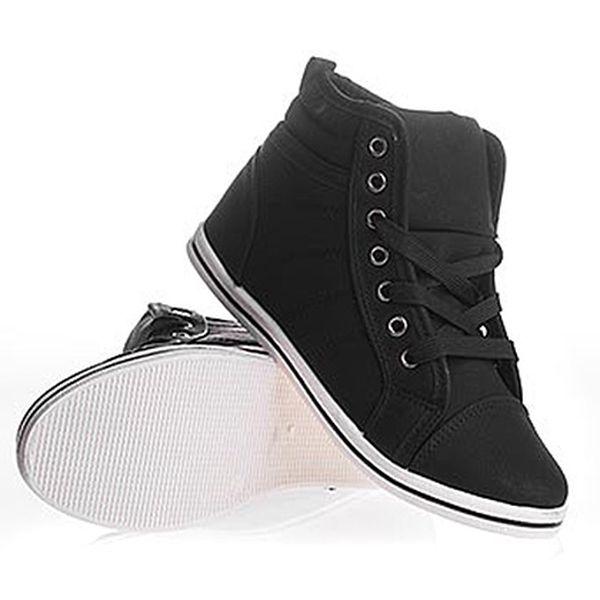 Dámské Sneaker boty černé Moodex